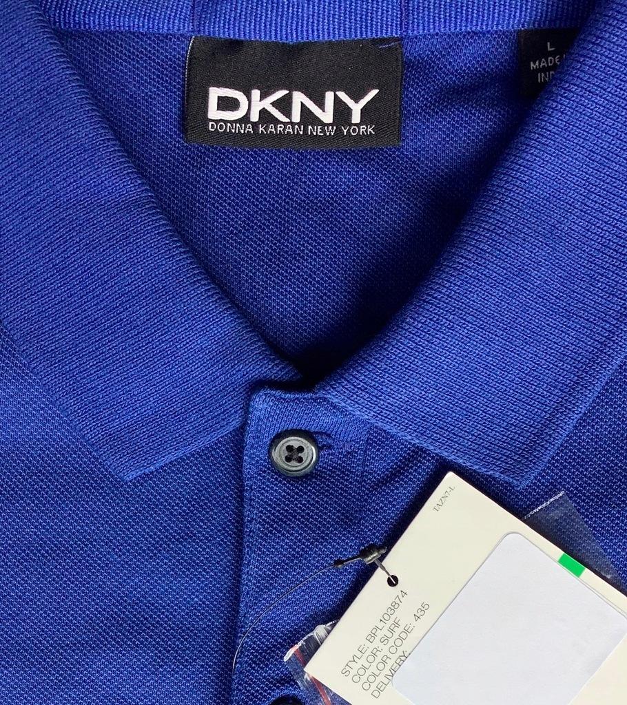 DKNY oryginalna polówka, polo L