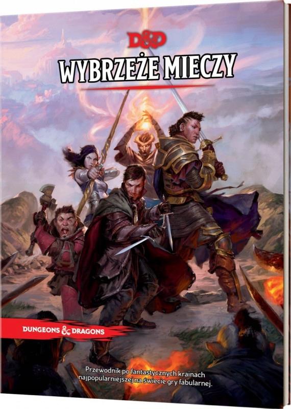 Rebel Dungeons & Dragons Podręcznik Wybrzeże M
