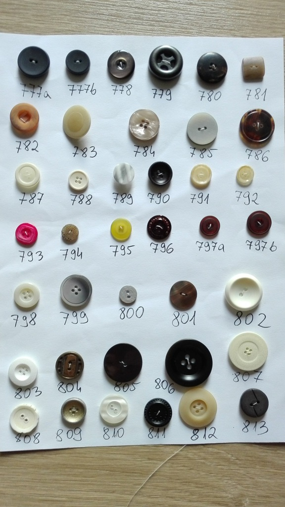 tanio guziki pasmanteria dodatki buttons