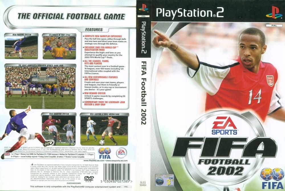 Fifa Football 2002 Ps2 7550212772 Oficjalne Archiwum Allegro