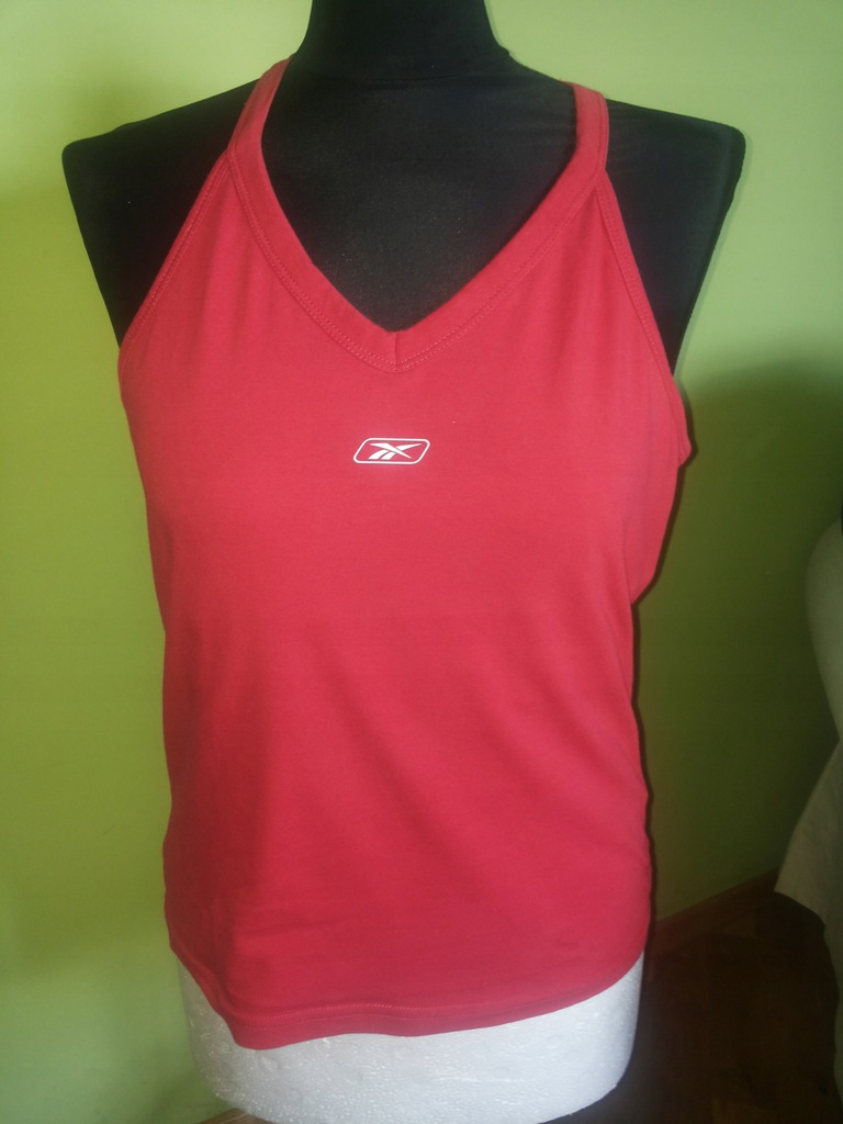 BOKSERKA koszulka damska T SHIRT REEBOK fitness XL