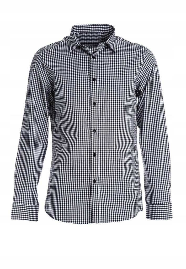 Czarno-Biała Koszula XL