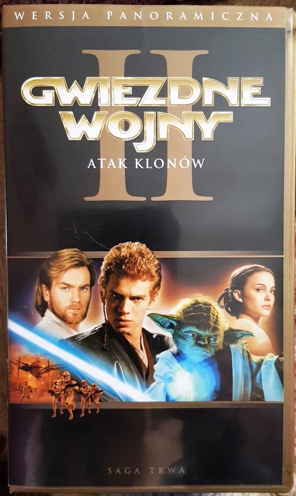 Gwiezdne wojny E2 Atak klonów - kaseta VHS