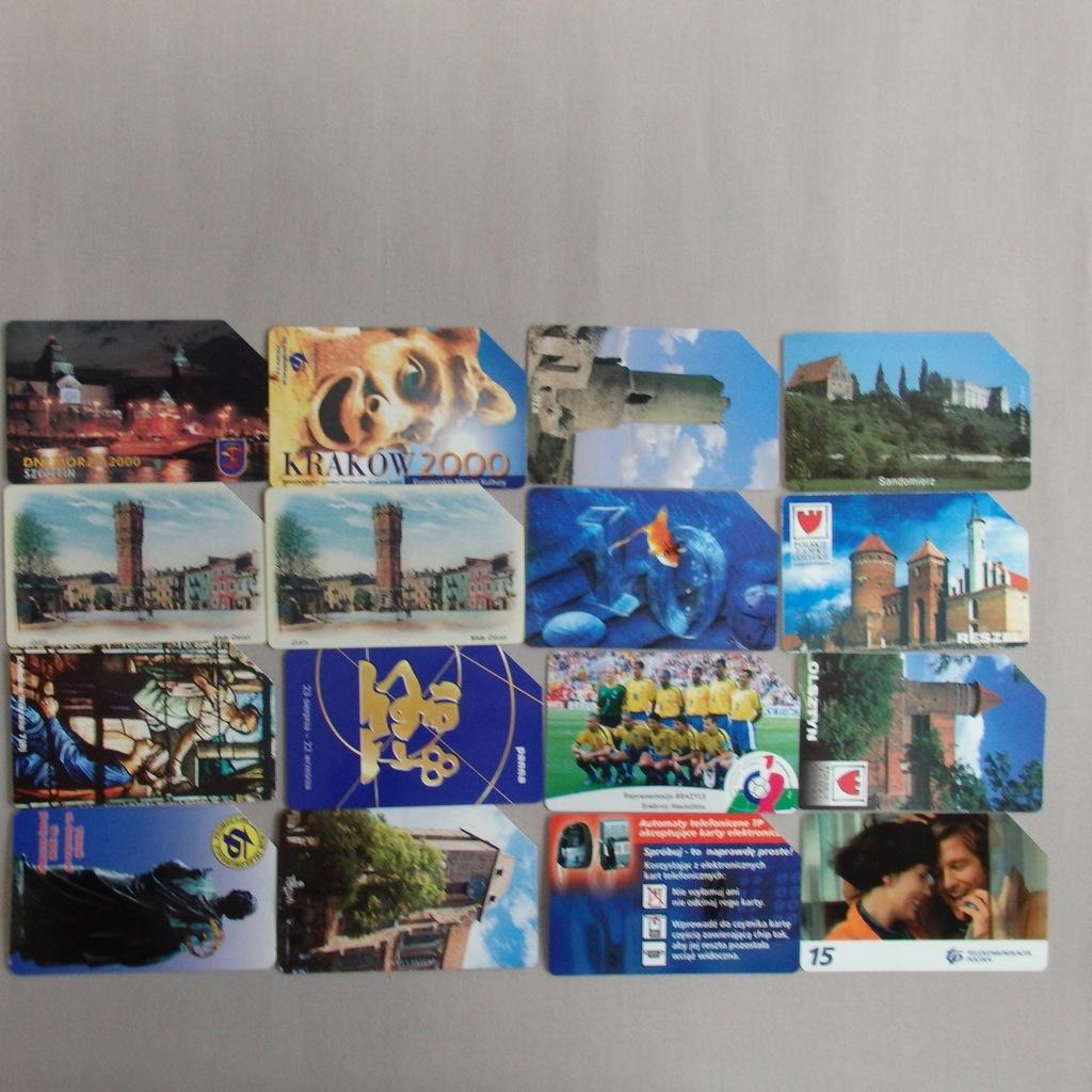 Zestaw kart telefonicznych PolskaMIX BCM(145E)(RZ)
