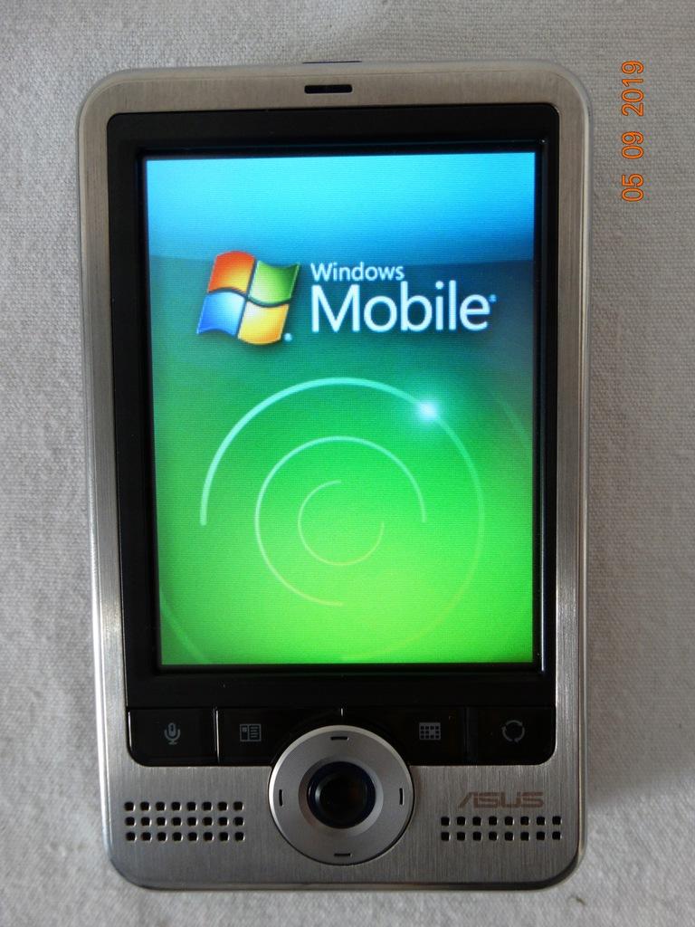 Asus A626 3,5-calowy PDA Windows Mobile 6.0, Wi-Fi
