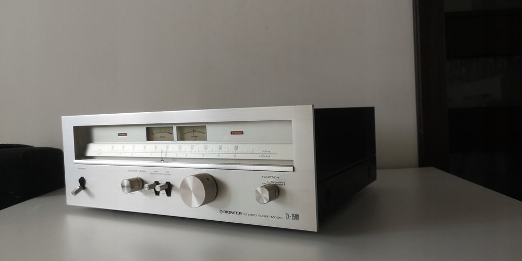 VINTAGE PIONEER TX-7500 SREBRNY KLASYK JAPAN