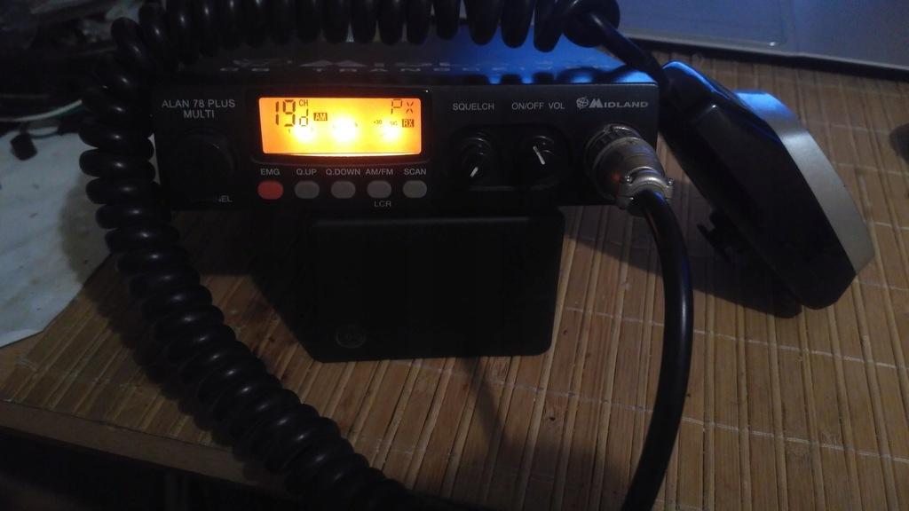 CB Radio Midland ALAN 78 PLUS MULTI