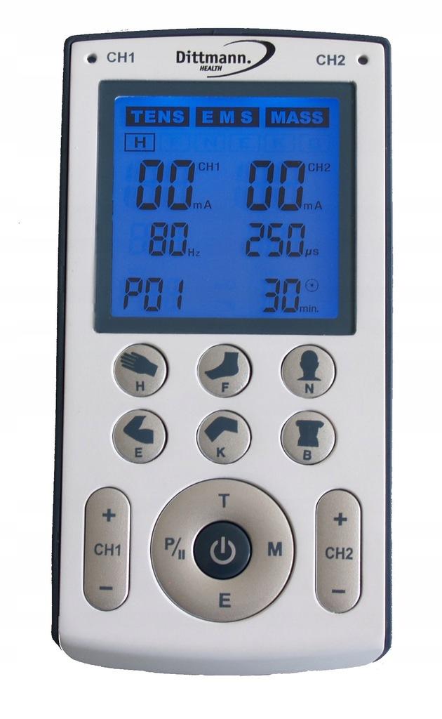 Elektrostymulator 3w1 Dittmann EMS TENS TEN250