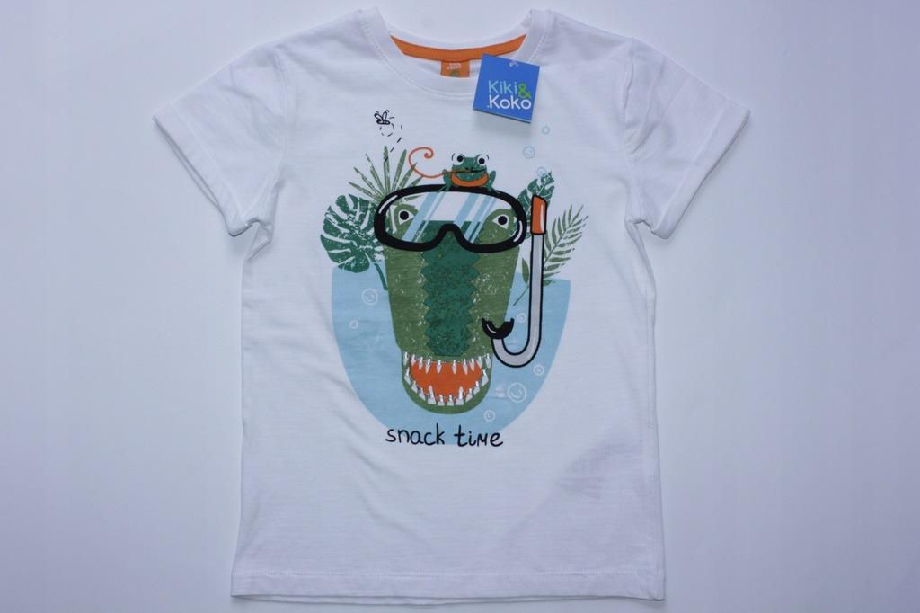 Kiki&Koko T-shirt Koszulka Bluzka nadruk 122