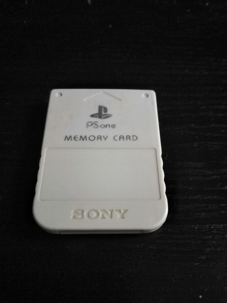 Karta pamięci 1MB Sony PSone PSX PlayStation