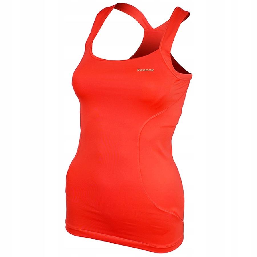 Koszulka Reebok Strap Vest Bright XS pomarańczowy
