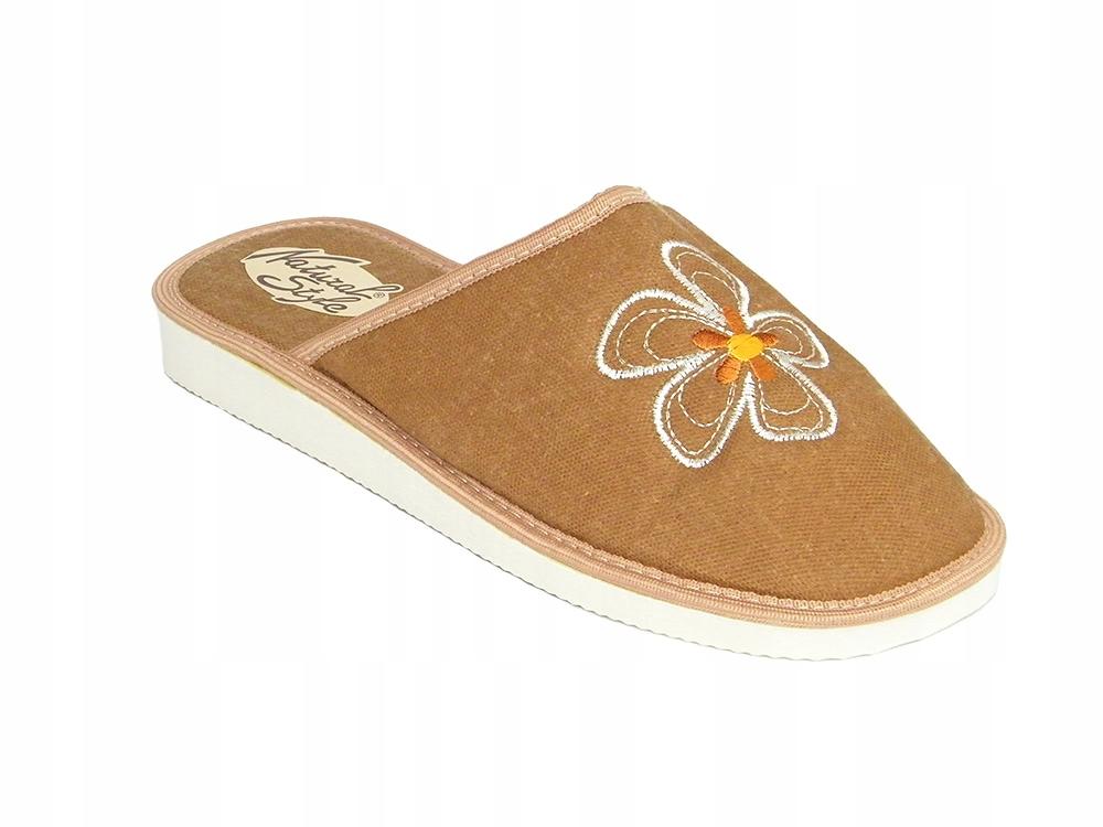 Pantofle kapcie damskie Natural Style 014 B roz.39