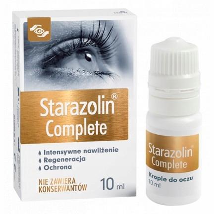 STARAZOLIN COMPLETE KROPLE 10 ml BEZ KONSERWANTÓW