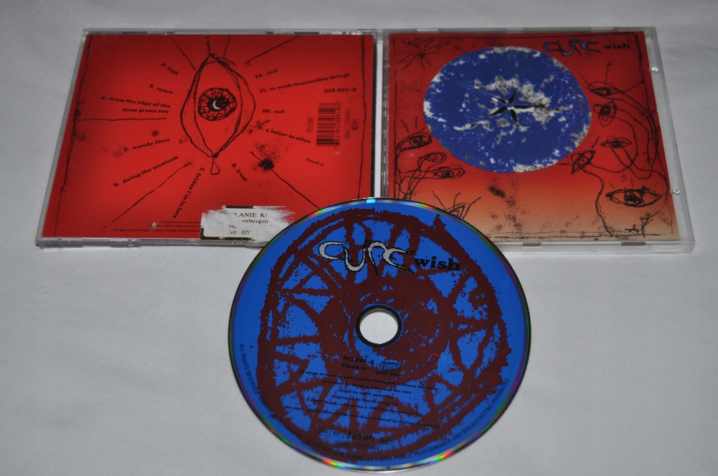 THE CURE - WISH 1992r CD