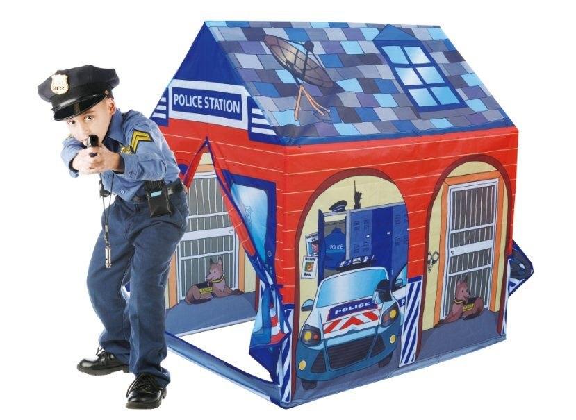 Namiot namiocik domek dla dzieci posterunek policj