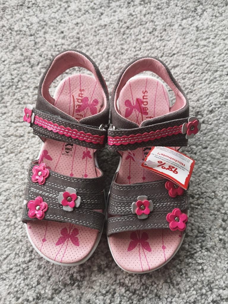 Nowe sandałki SUPERFIT R. 31