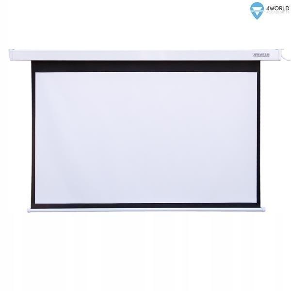 Ekran Projekcyjny z Pilotem 186x105 (16:9)