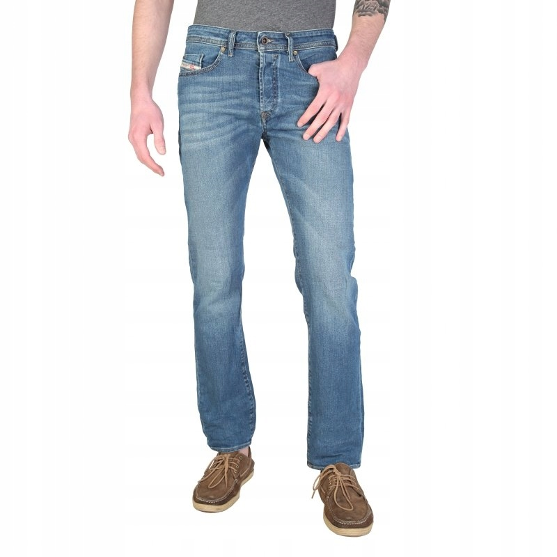 Diesel Buster Spodnie Jeansy 0837I blue 28
