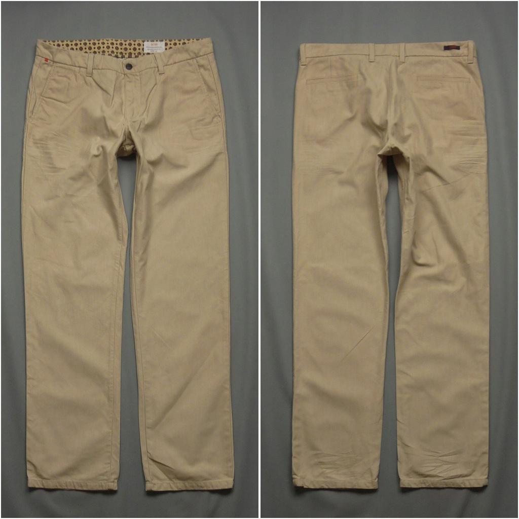 HUGO BOSS Orange Spodnie Regular Fit rozm.52 36x34