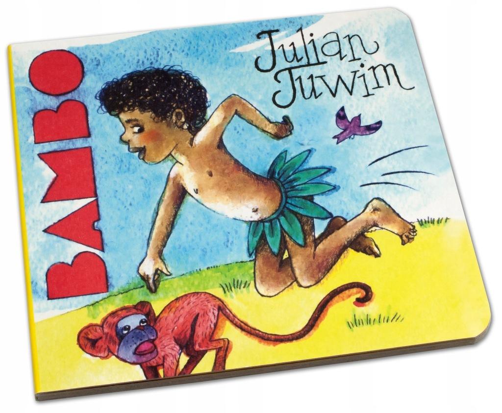 Murzynek Bambo Julian Tuwim Dla Maluszka 033