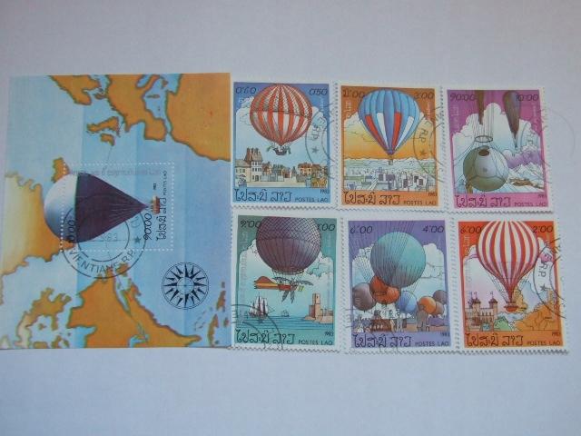 Laos - balony