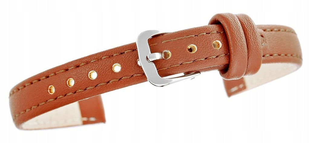 Pasek do zegarka CLASSIC - skóra 12 mm 4999-12XXL-