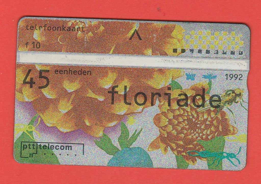 HOLANDIA kwiaty owady motyle / 45 / seria 202D