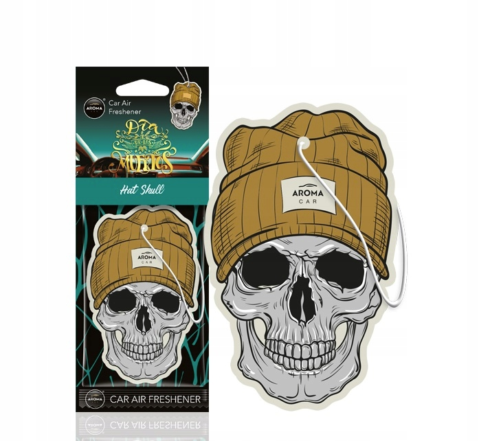 Odświeżacz powietrza muertos hat skull