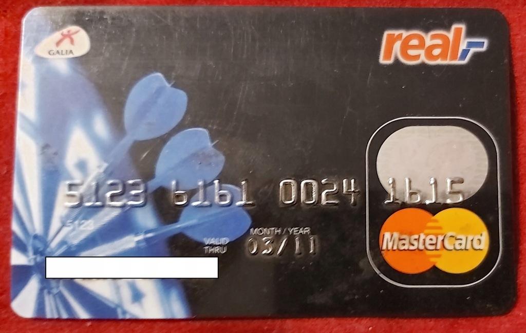 Karta MasterCard SygmaBank Polska - real,-