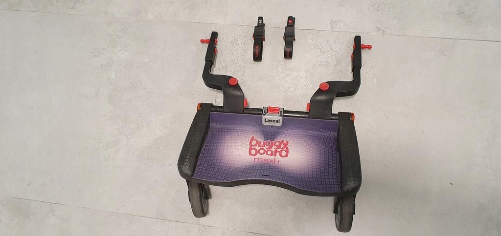 Buggy Board Maxi Lascal podest dostawka do wózka