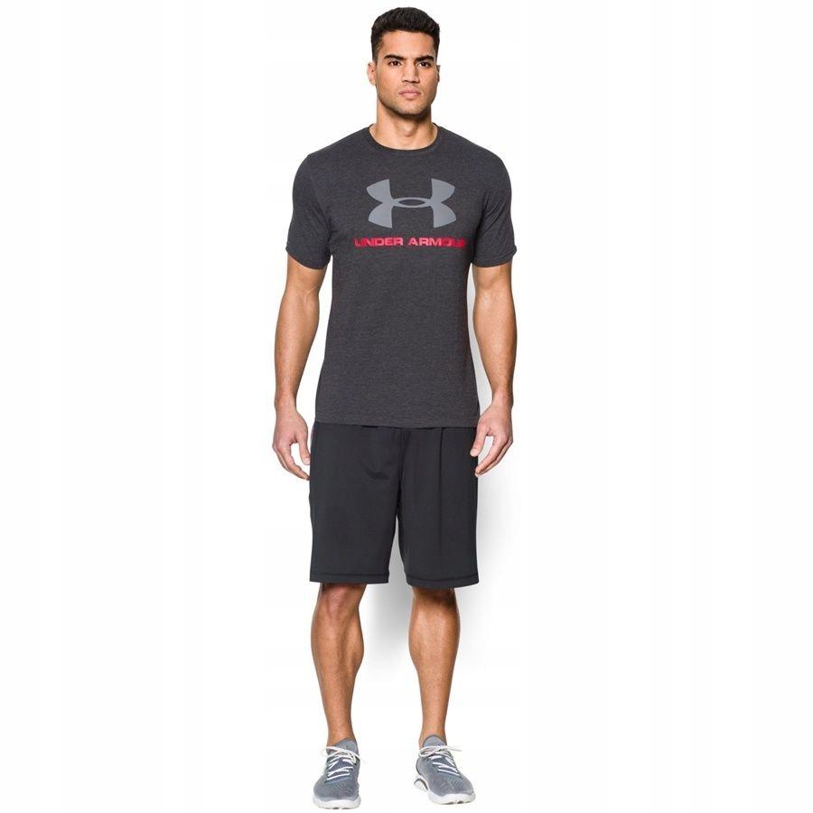 Koszulka Under Armour CC Sportstyle Logo szary XS