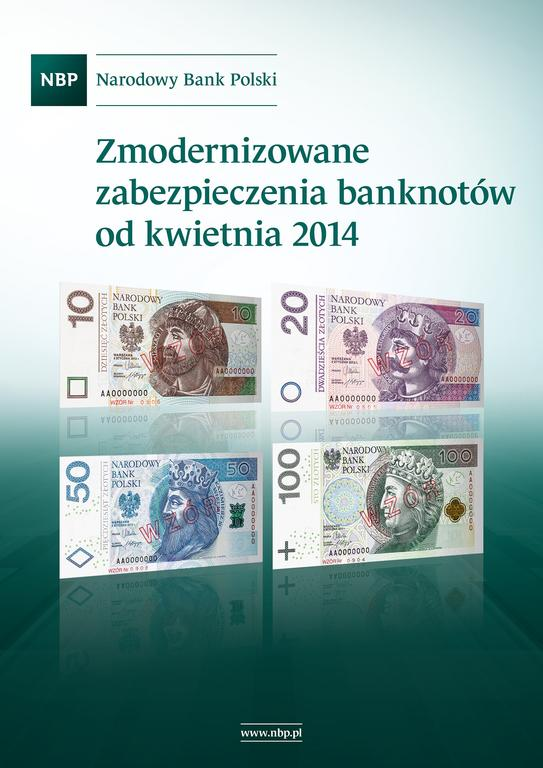 NBP - komplet banknotów z jednakowa numeracją 2