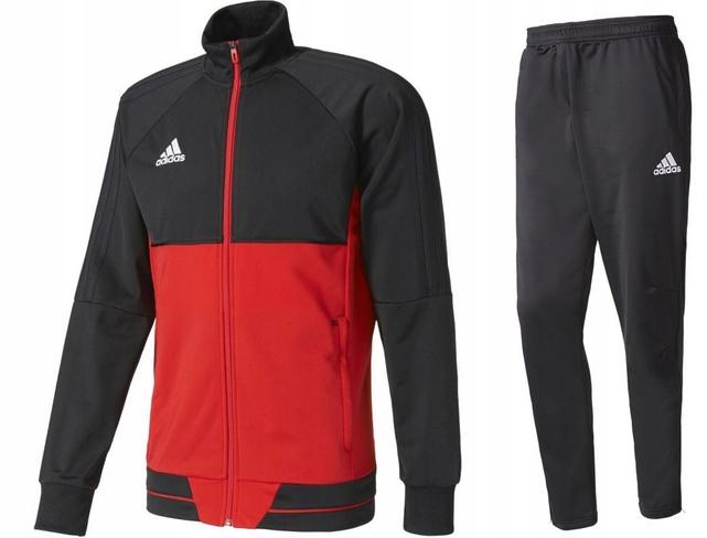 Dres Męski Adidas Spodnie Bluza Sportowy Tiro17 XL