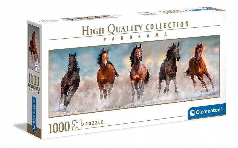Puzzle 1000 elementów Panorama Horses konie