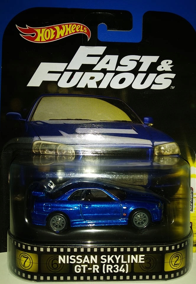 Nissan Skyline Gt R R34 Fast Furious 7893588026 Oficjalne Archiwum Allegro