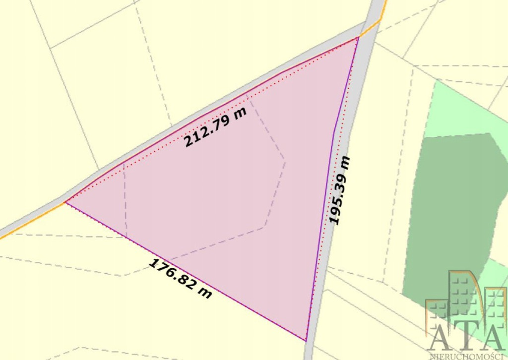 Działka, Przezdrowice, Sobótka (gm.), 16457 m²
