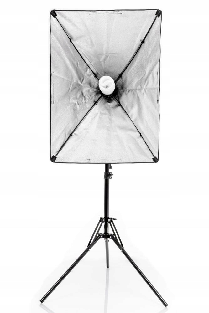LAMPA SOFTBOX MONOHEAD QUICK 50X70CM, 85W, 230CM