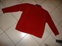 STATE of ART wełniany rudo-czerwony 2XL