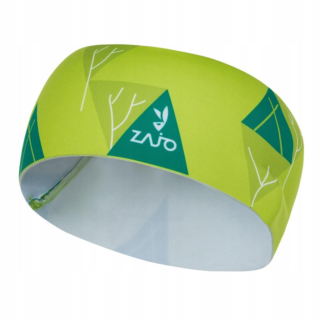 Opaska na głowę Headband Zajo limonkowa one size