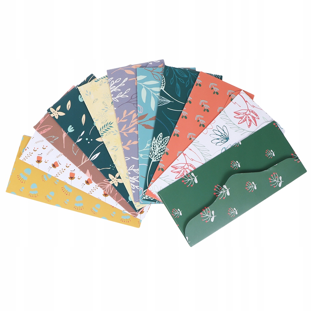 24 Pcs/2 Sets Creative Budget Sheet Cash Envelopes