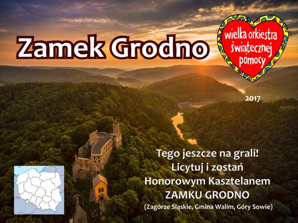 Tytuł Honorowego Kasztelana Zamku Grodno w 2017 r.