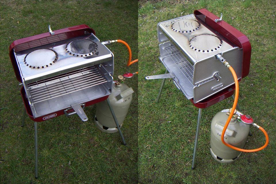 CRAMER - Classic II przenośny grill gazowy