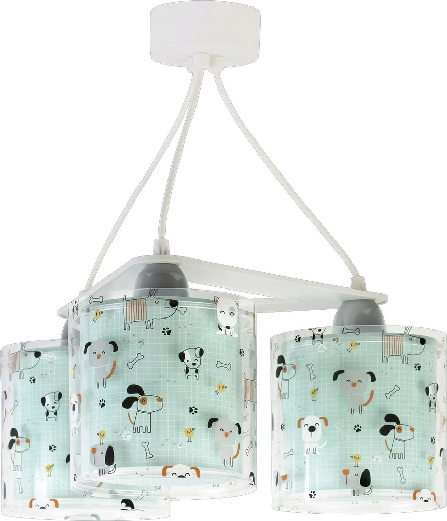 DALBER - LAMPA ZWIS 3 HAPPY DOGS nr. 61314