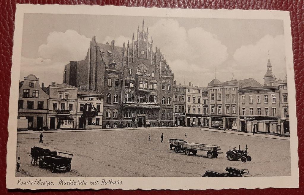 Pocztówka Konitz - Chojnice czysta