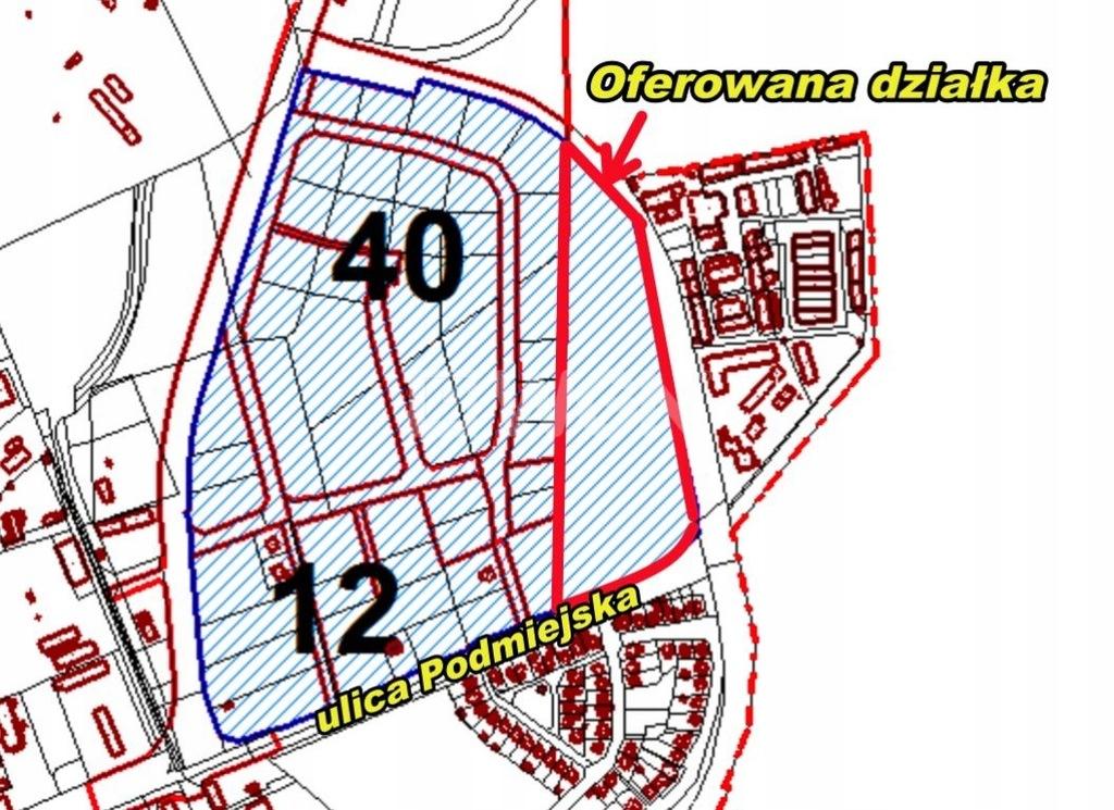 Działka, Gorzów Wielkopolski, 53349 m²