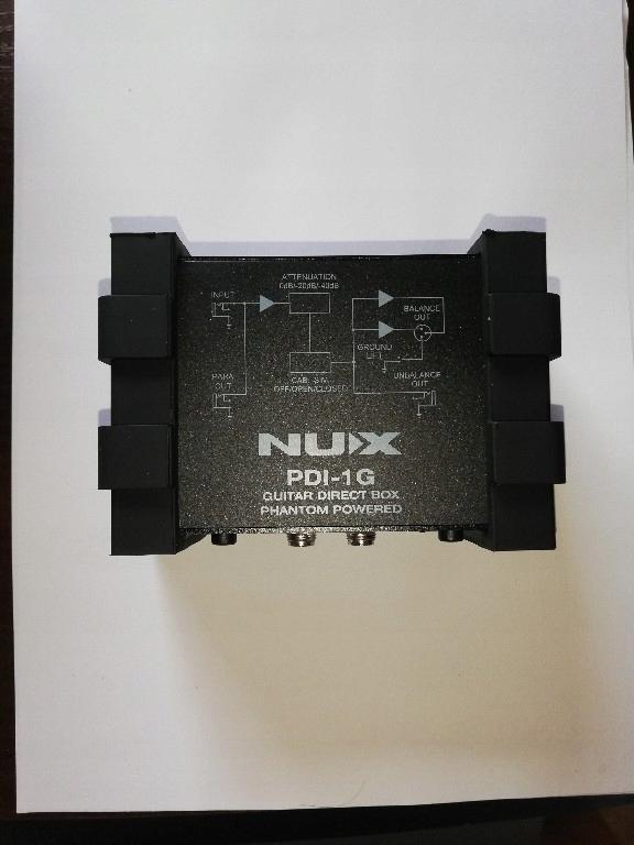 Nux PDI-1G gitarowy Di Box Phantom