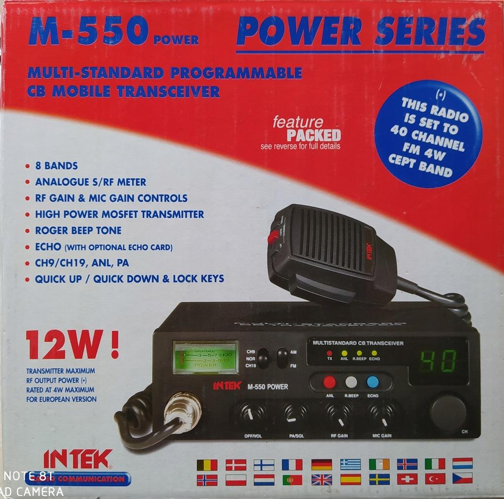 CB RADIO INTEK M 550 POWER W PUDEŁKU !!!!!