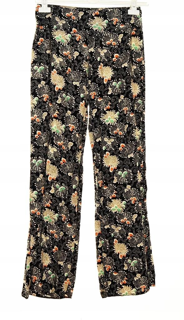 spodnie damskie lenie kolorowe allegro
