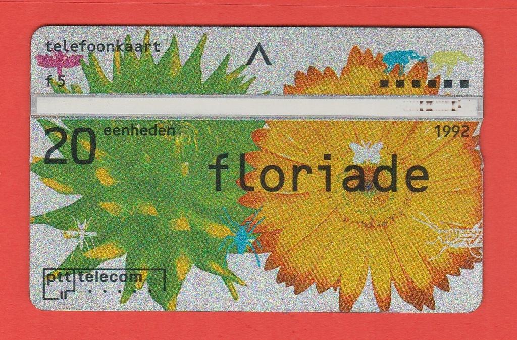 HOLANDIA kwiaty owady motyle / 20 / seria 202C