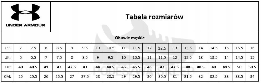 مجهول عملية تجارية المجرة Rozmiarowka Butow Under Armour Natural Soap Directory Org